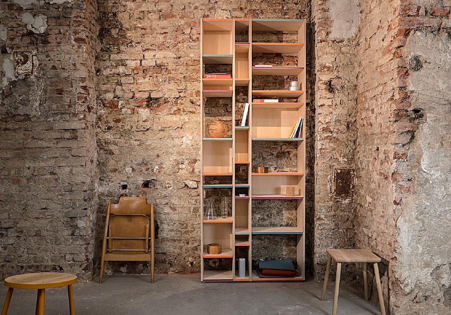 7172 wohnsystem aus m nchen. Black Bedroom Furniture Sets. Home Design Ideas
